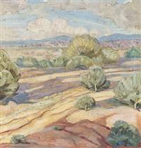 desert landscape by lloyd moylan