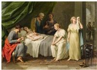 the testament of eudamidas by johann heinrich tischbein the elder