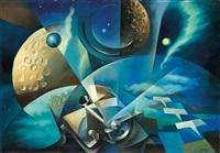 spazio cosmico by tullio crali