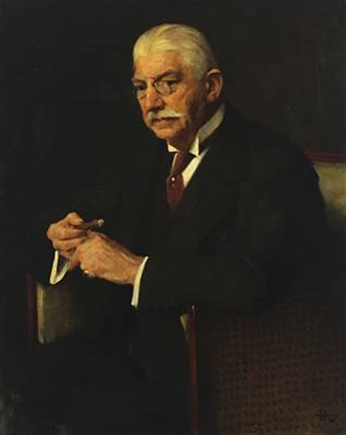 portrait of carl gammeltoft by herman albert gude vedel