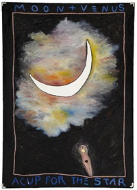 moon and venus: a cup for the stars by squeak carnwath