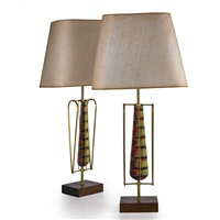 table lamps (pair) by yascha heifetz