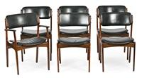 juego de sillas y sillon (6 works) by erik buch