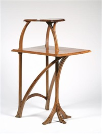 two-tier table by pierre selmersheim