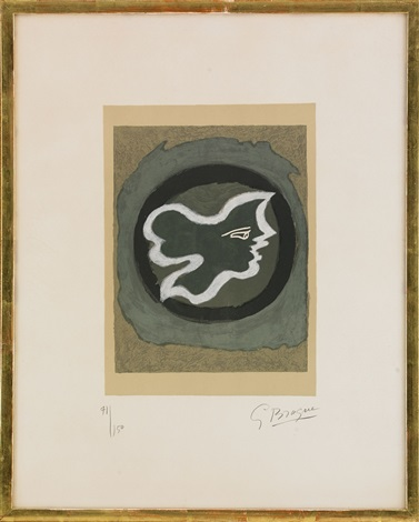 profil grec by georges braque