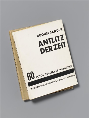 antlitz der zeit bk w60 works by august sander