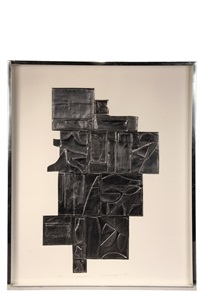 tropical leaves by louise nevelson