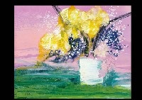 bouquet and the evening sky by marcestel