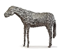 horse #2 by deborah butterfield