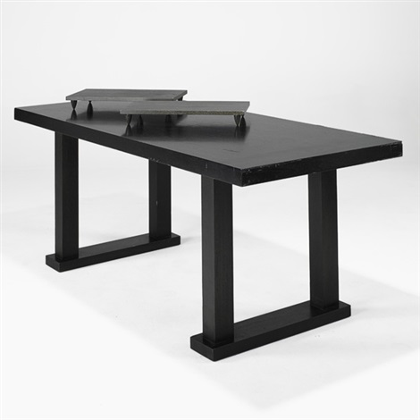 dining table wtivets 3 works by christian liaigre