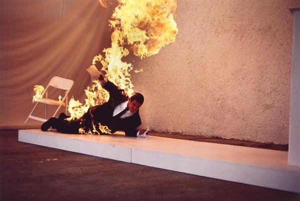 combustione umana spontanea by gustavo artigas