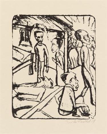 die brüder karamasow 1920 by erich heckel