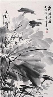 荷塘清趣图 by xu zihe