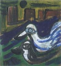 zwei vögel by hartmut hacky ritzerfeld