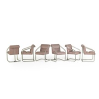 armchairs (set of 6) by lion in frost (co.)