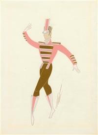 boy dance by erté