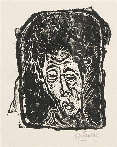 Trauriges Gesicht By Otto Pankok On Artnet