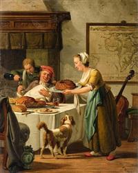 the gourmet by abraham van stry the elder