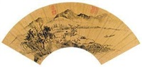 泛舟图 by xiang yuanbian