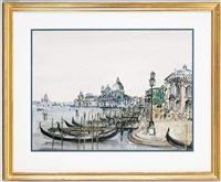 le grand canal à venise by jean-pierre remon