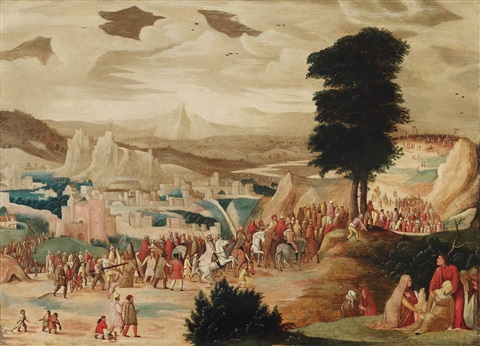 christ bearing the cross by pieter brueghel the younger