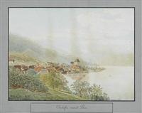 oberhofen unweit thun by balthasar anton dunker