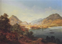 riva am gardasee by heinrich adam