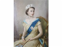 queen elizabeth ii by mary eastman