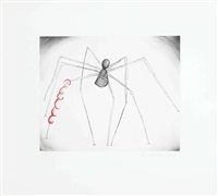 sans titre (spider and snake) by louise bourgeois