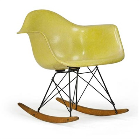 Cool Early Molded Plastic Rocker Rar By Charles And Ray Eames On Inzonedesignstudio Interior Chair Design Inzonedesignstudiocom