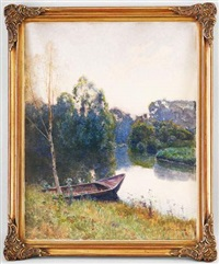 barque à bonne-sur-ménoge by laurent sabon