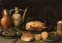 breakfast still life by georg flegel