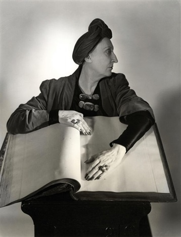 edith sitwell by horst p horst