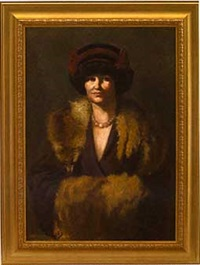 sunday best, portrait of lucia sturdevant gibbes by john bernhard alberts