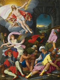 the ascension of christ by johann (hans) konig
