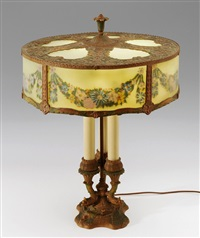 tischlampe by h.e. rainaud (co.)