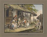 jahreszeiten-zyklus (4 works) by sigmund freudenberger