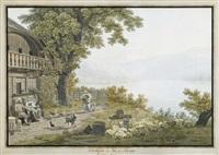 oberhofen au lac de thoune by samuel frey
