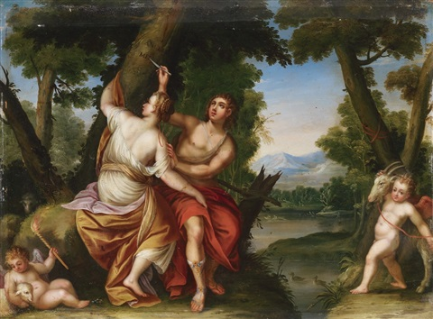 angelica and medoro by hans rottenhammer the elder