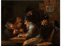 wirtshausszene by egbert van heemskerk