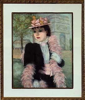 femme au chapeau by cherry jeffe huldah