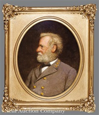 portrait of general robert e. lee by nicola marschall