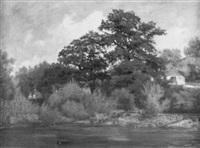bayrische landschaft by julius kornbeck