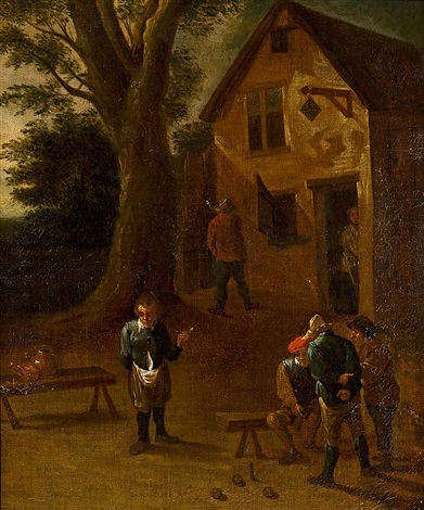 posada by david teniers the elder