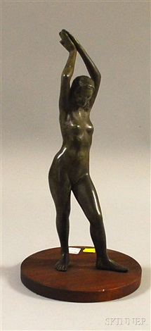 elongated nude female by joseph joe brown