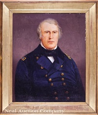 portrait of president zachary taylor (1784-1850) by american school (19)