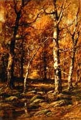 forest scene by charles linford