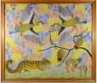 léopard à l'affut de 2 gazelles by mulongoy pili pili
