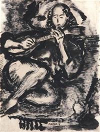 guitarist by mark rothko