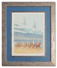 full field (kentucky derby) by guillaume a. azoulay